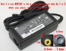 PPP009L 18.5V 3.5A 65W adapter for HP laptop
