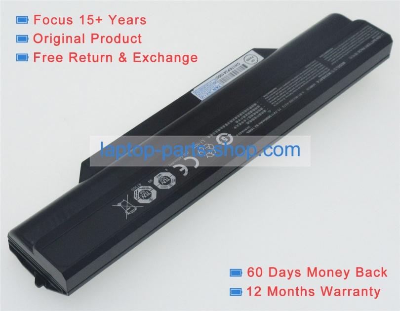 W230st barebones 11 1V 62 16Wh battery for clevo laptop