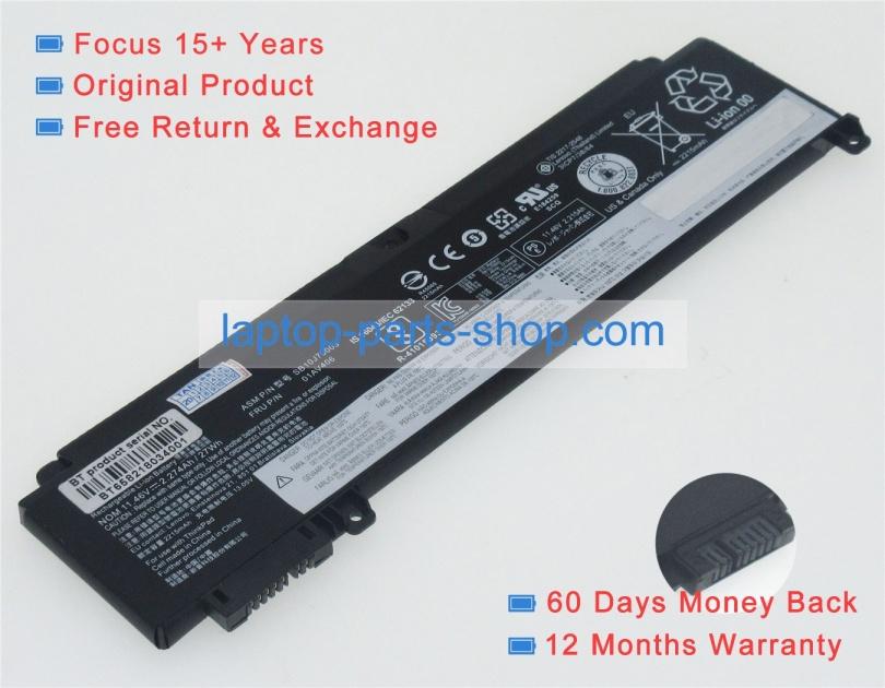 Thinkpad t470s 11 46v 27wh battery for lenovo laptop : Laptop parts