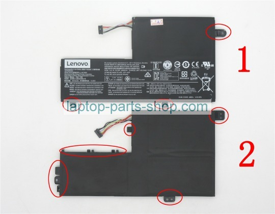Ideapad 520s 11 4V 52 5Wh battery for lenovo laptop : Laptop parts