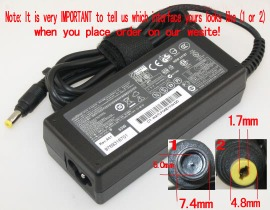 287515-001 18.5V 3.5A 65W adapter for HP laptop